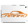 Orange Camaro SS Tablet (horizontal)