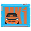 Orange Ford Escort MK1 Classic Car Tablet