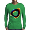Orbital Wonky Style Mens Long Sleeve T-Shirt
