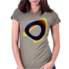 Orbital Wonky Style Womens Fitted T-Shirt