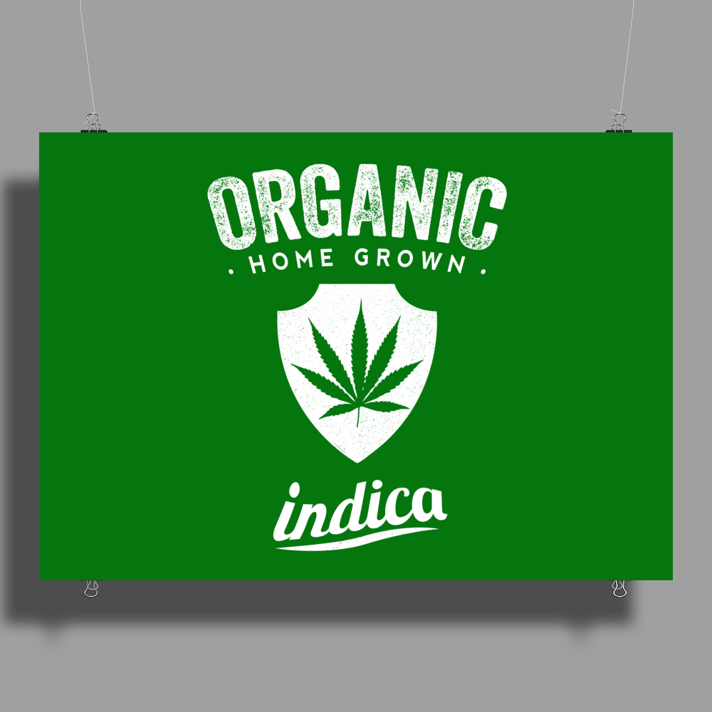 Organic indica Poster Print (Landscape)