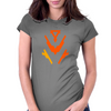 Original Crest Womens Fitted T-Shirt