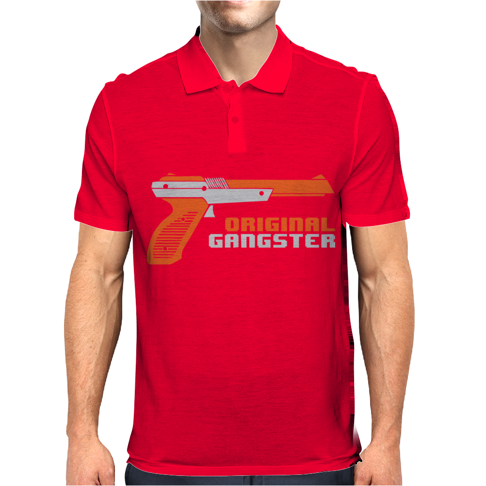 Original Gangster Funny Mens Polo