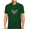 Ornate Bumblebee Mens Polo