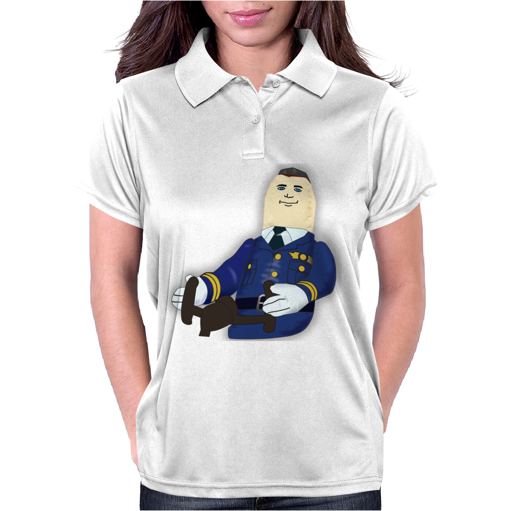 Otto the Autopilot Womens Polo