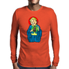 Our Lord and Savior, VaultBoy Mens Long Sleeve T-Shirt