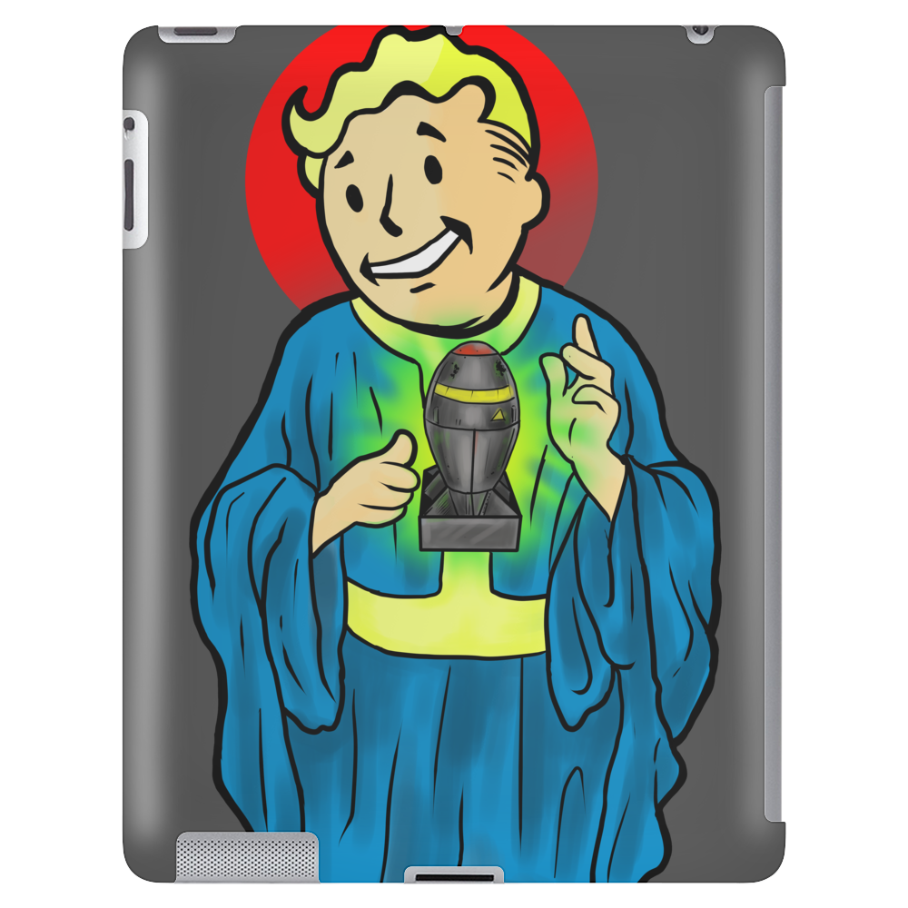 Our Lord and Savior, VaultBoy Tablet (vertical)