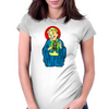 Our Lord and Savior, VaultBoy Womens Fitted T-Shirt