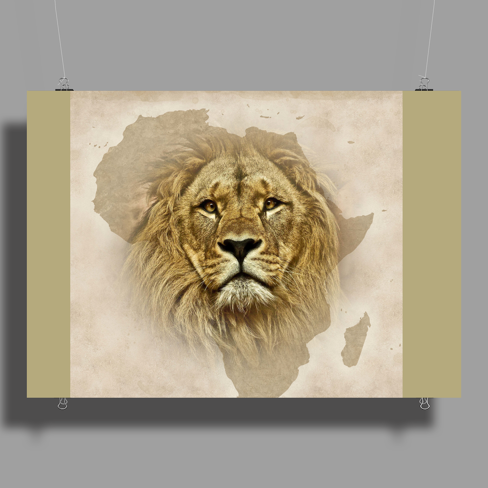 Out Of Africa Poster Print (Landscape)