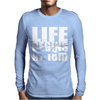 OW Life Begins At 18 Meters Mens Long Sleeve T-Shirt