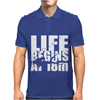 OW Life Begins At 18 Meters Mens Polo