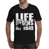 OW Life Begins At 18 Meters Mens T-Shirt
