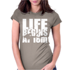 OW Life Begins At 18 Meters Womens Fitted T-Shirt