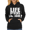 OW Life Begins At 18 Meters Womens Hoodie