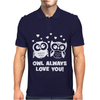 Owl Always Love You Mens Polo