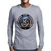 Owl Baraka Mens Long Sleeve T-Shirt