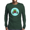 Owl Mens Long Sleeve T-Shirt