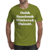 Ozil and Sanchez and Wilshere and Walcott Mens T-Shirt