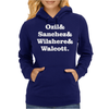 Ozil and Sanchez and Wilshere and Walcott Womens Hoodie