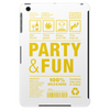packaging label party & fun get drunk enjoy your life think green party hard Tablet