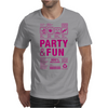 packaging label party & fun get drunk think green enjoy your life party hard Mens T-Shirt