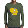 Packers Wisconsin Skull Mens Long Sleeve T-Shirt