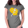 Packers Wisconsin Skull Womens Fitted T-Shirt