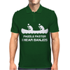 Paddle Faster I Can Hear Banjos Mens Polo