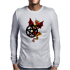 Pagan Pentacle and Dragon Mens Long Sleeve T-Shirt