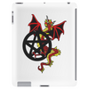 Pagan Pentacle and Dragon Tablet