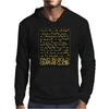 Paid In Gold Heiroglyphs Mens Hoodie