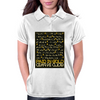 Paid In Gold Heiroglyphs Womens Polo