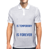 Pain Is Temporary Pride Is Forever Mens Polo