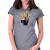 paint brushes 1 Womens Fitted T-Shirt