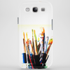 paint brushes Phone Case
