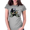 Paintball Womens Fitted T-Shirt