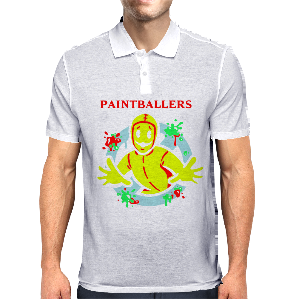 Paintballers Mens Polo