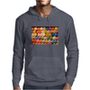 Painted Carnival Balloons from Balloon Dart Game on Carnival Midway Mens Hoodie