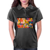 Painted Carnival Balloons from Balloon Dart Game on Carnival Midway Womens Polo