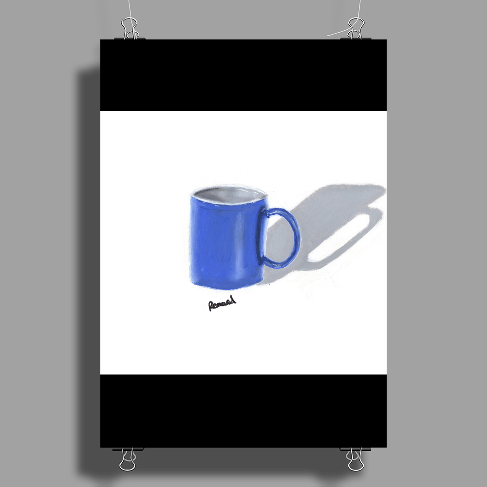 Painted mug Poster Print (Portrait)
