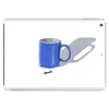 Painted mug Tablet