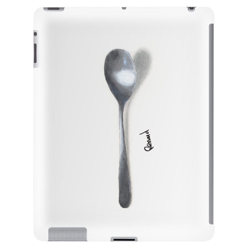 Painted spoon Tablet