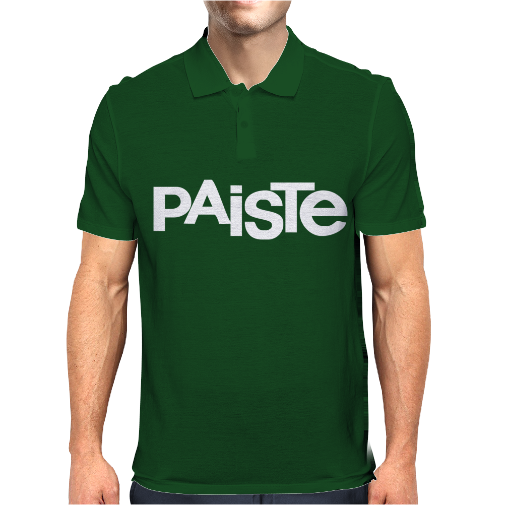 PAISTE new Mens Polo