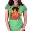 Pam Grier Womens Fitted T-Shirt