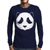 Panda Bear Mens Long Sleeve T-Shirt