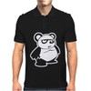 Panda Bear Mens Polo