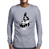 Panda Bear WWF Mens Long Sleeve T-Shirt