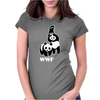 Panda Bear WWF Womens Fitted T-Shirt