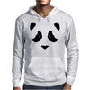 Panda Bear's black part Mens Hoodie