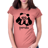 PANDA. Womens Fitted T-Shirt